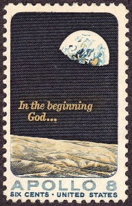Apollo 8 Postage Stamp