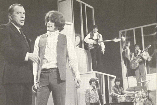 Tommy James with Ed Sullivan
