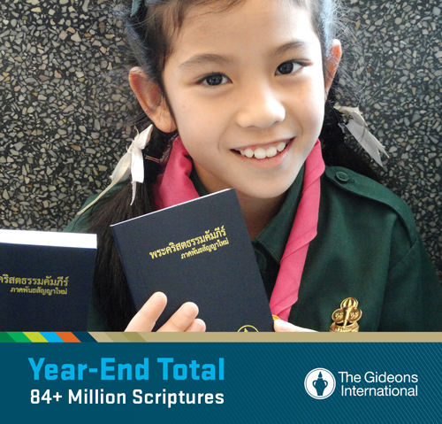 Over 84 Million Scriptures Placed In Past Year Through The Gideons ...