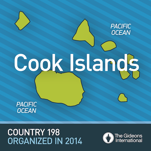 God Opens The Doors For Country 198 – Cook Islands