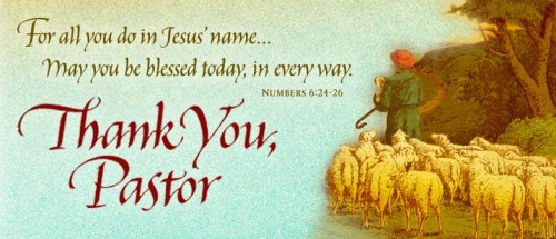 "Tell A Pastor ""Thank You"" This October - The Gideons ..."