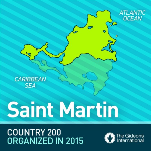 Saint Martin Is Opened As Country Number 200