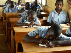From schoolhouse to schoolhouse, students signed their names in their brand new copies of God's Word distributed by Gideons. We pray that many more Rwandan's names are being added to the Book of Life. © 2015 The Gideons International