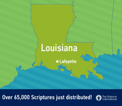 Touching Lives in Louisiana: The 2015 Lafayette Scripture Blitz