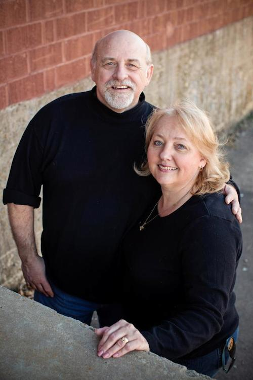 Reverend Nelson Perkinson and his wife, Jill.