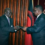 Gideons Present Commemorative Scripture To President Of Malawi