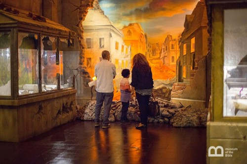 Museum of the Bible Passages Exhibit